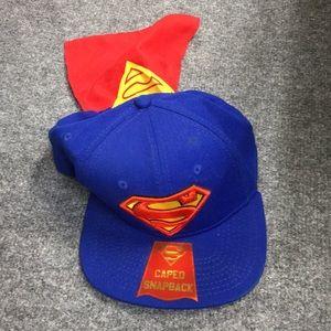 Superman SnapBack caped Hat
